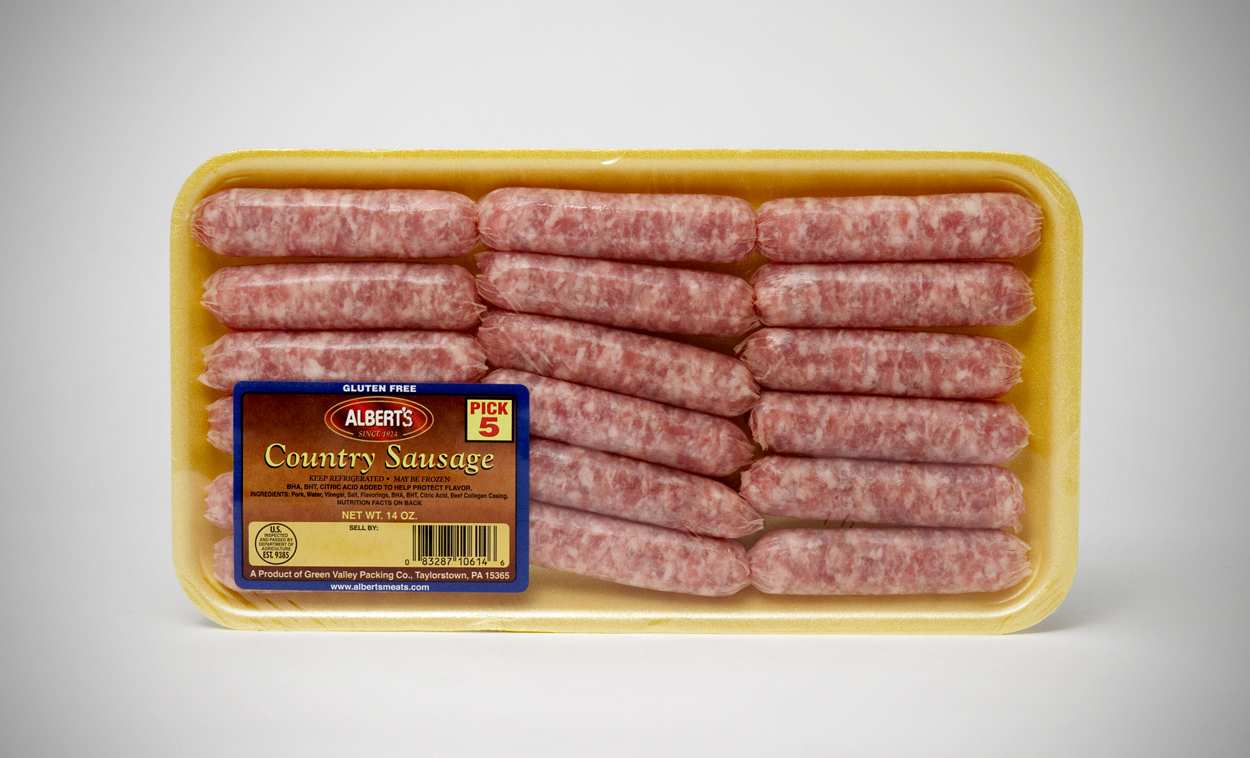 Country Sausage - Albert's Meats
